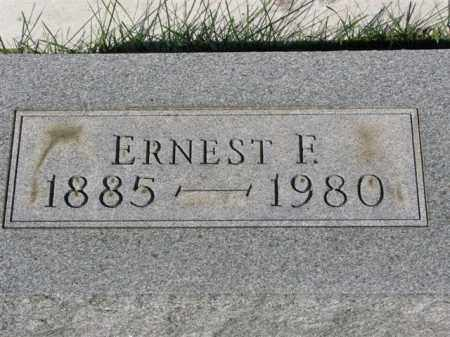 HARRISON, ERNEST F. - Meigs County, Ohio | ERNEST F. HARRISON - Ohio Gravestone Photos