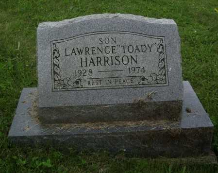 "HARRISON, LAWRENCE ""TOADY"" - Meigs County, Ohio 