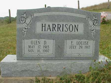 HARRISON, OLEN D. - Meigs County, Ohio | OLEN D. HARRISON - Ohio Gravestone Photos