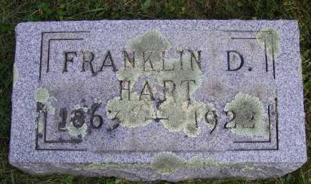 HART, FRANKLIN - Meigs County, Ohio | FRANKLIN HART - Ohio Gravestone Photos