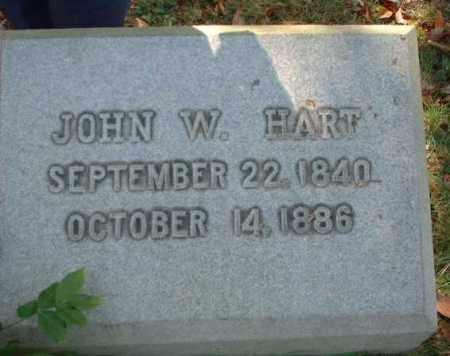 HART, JOHN W. - Meigs County, Ohio | JOHN W. HART - Ohio Gravestone Photos