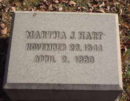 HART, MARTHA J. - Meigs County, Ohio | MARTHA J. HART - Ohio Gravestone Photos
