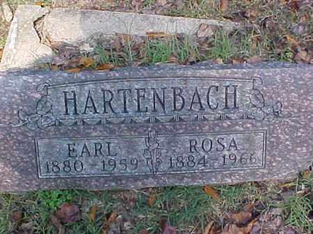 HARTENBACH, ROSA - Meigs County, Ohio | ROSA HARTENBACH - Ohio Gravestone Photos