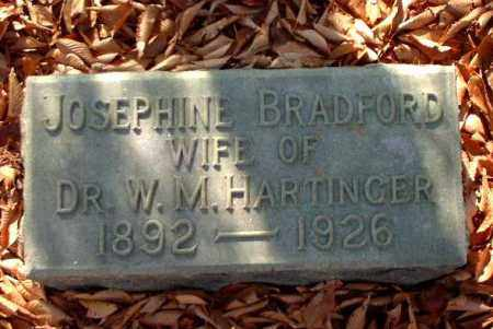 BRADFORD HARTINGER, JOSEPHINE - Meigs County, Ohio | JOSEPHINE BRADFORD HARTINGER - Ohio Gravestone Photos