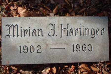 HARTINGER, MIRIAN F. - Meigs County, Ohio | MIRIAN F. HARTINGER - Ohio Gravestone Photos
