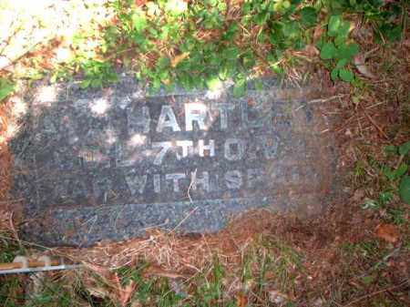 HARTLEY, C. - Meigs County, Ohio | C. HARTLEY - Ohio Gravestone Photos