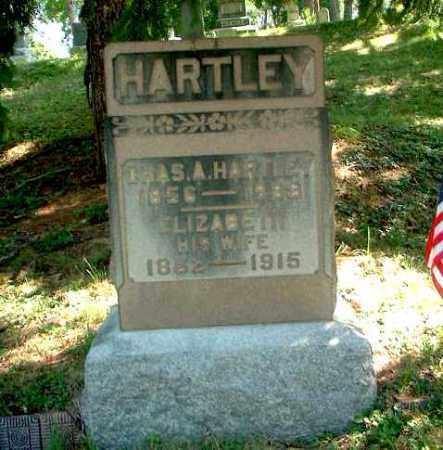 HARTLEY, ELIZABETH - Meigs County, Ohio | ELIZABETH HARTLEY - Ohio Gravestone Photos