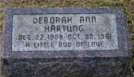 HARTUNG, DEBORAH ANN - Meigs County, Ohio | DEBORAH ANN HARTUNG - Ohio Gravestone Photos