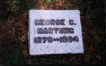 HARTUNG, GEORGE C. - Meigs County, Ohio | GEORGE C. HARTUNG - Ohio Gravestone Photos