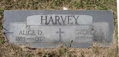 HARVEY, ALICE D. - Meigs County, Ohio | ALICE D. HARVEY - Ohio Gravestone Photos