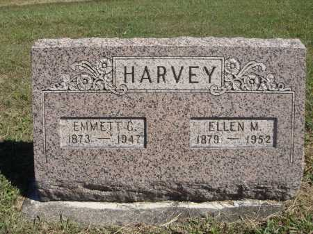 MORRIS HARVEY, ELLEN M. - Meigs County, Ohio | ELLEN M. MORRIS HARVEY - Ohio Gravestone Photos