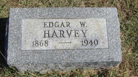 HARVEY, EDGAR W. - Meigs County, Ohio | EDGAR W. HARVEY - Ohio Gravestone Photos