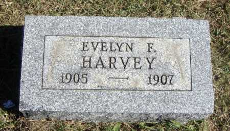 HARVEY, EVELYN F. - Meigs County, Ohio | EVELYN F. HARVEY - Ohio Gravestone Photos