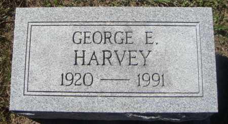 HARVEY, GEORGE E. - Meigs County, Ohio | GEORGE E. HARVEY - Ohio Gravestone Photos