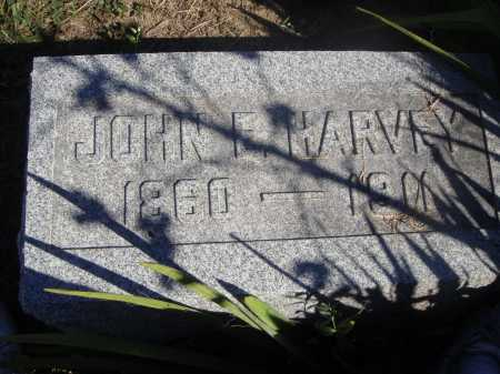 HARVEY, JOHN E. - Meigs County, Ohio | JOHN E. HARVEY - Ohio Gravestone Photos