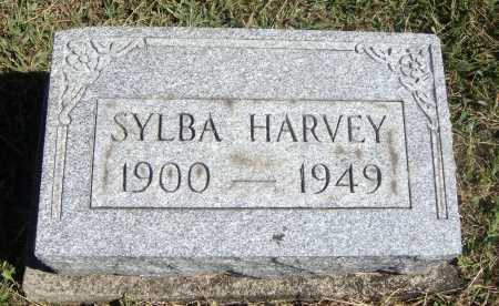 HARVEY, SYLBA - Meigs County, Ohio | SYLBA HARVEY - Ohio Gravestone Photos