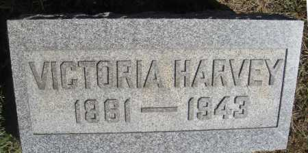 HARVEY, VICTORIA - Meigs County, Ohio | VICTORIA HARVEY - Ohio Gravestone Photos