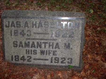 SCOTT HASELTON, SAMANTHA - Meigs County, Ohio | SAMANTHA SCOTT HASELTON - Ohio Gravestone Photos