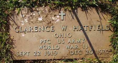 HATFIELD, CLARENCE W. - MILITARY - Meigs County, Ohio | CLARENCE W. - MILITARY HATFIELD - Ohio Gravestone Photos