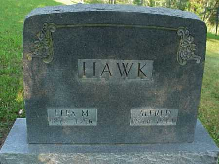 HAWK, ALFRED - Meigs County, Ohio | ALFRED HAWK - Ohio Gravestone Photos