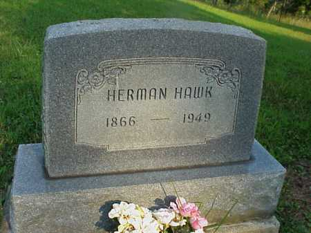 HAWK, HERMAN - Meigs County, Ohio | HERMAN HAWK - Ohio Gravestone Photos