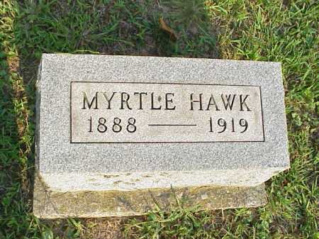 HAWK, MYRTLE - Meigs County, Ohio | MYRTLE HAWK - Ohio Gravestone Photos