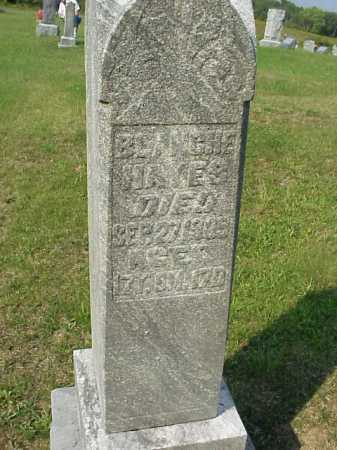 HAYES, BLANCHE - Meigs County, Ohio | BLANCHE HAYES - Ohio Gravestone Photos