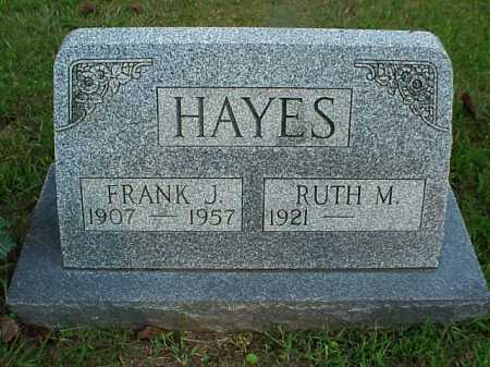 HAYES, RUTH M. - Meigs County, Ohio | RUTH M. HAYES - Ohio Gravestone Photos