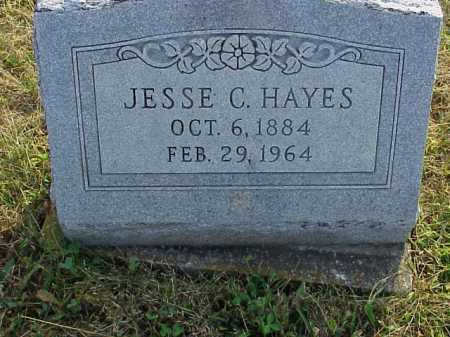 HAYES, JESSE C. - Meigs County, Ohio | JESSE C. HAYES - Ohio Gravestone Photos