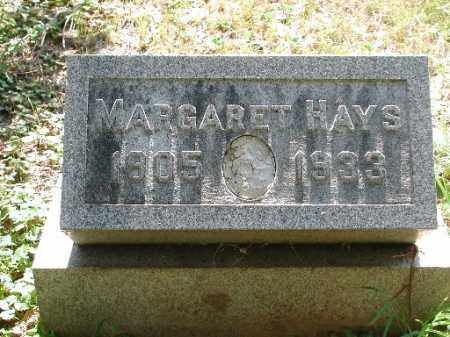 HAYS, MARGARET - Meigs County, Ohio | MARGARET HAYS - Ohio Gravestone Photos