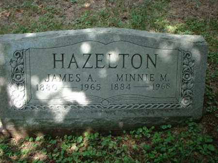 HAZELTON, JAMES A. - Meigs County, Ohio | JAMES A. HAZELTON - Ohio Gravestone Photos