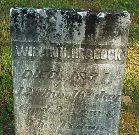 HEACOCK, WILLIAM U. - Meigs County, Ohio | WILLIAM U. HEACOCK - Ohio Gravestone Photos