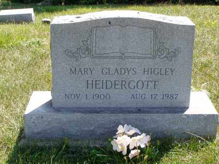 HEIDERGOTT, MARY GLADYS - Meigs County, Ohio | MARY GLADYS HEIDERGOTT - Ohio Gravestone Photos