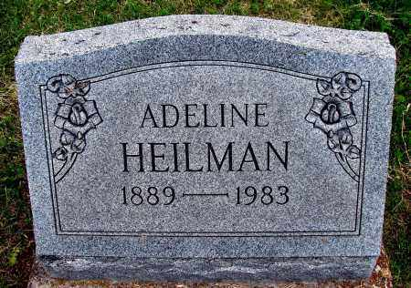 HEILMAN, ADELINE - Meigs County, Ohio | ADELINE HEILMAN - Ohio Gravestone Photos