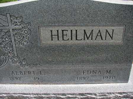 HEILMAN, ALBERT E - Meigs County, Ohio | ALBERT E HEILMAN - Ohio Gravestone Photos
