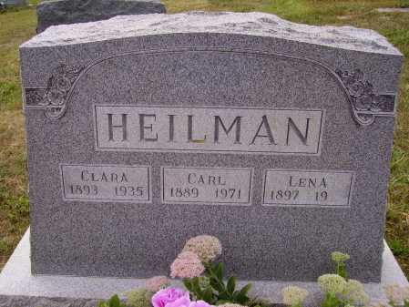 HEILMAN, CLARA - Meigs County, Ohio | CLARA HEILMAN - Ohio Gravestone Photos