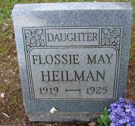 HEILMAN, FLOSSIE MAY - Meigs County, Ohio | FLOSSIE MAY HEILMAN - Ohio Gravestone Photos