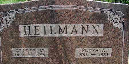 GREENLER HEILMAN, FLORA A - Meigs County, Ohio | FLORA A GREENLER HEILMAN - Ohio Gravestone Photos