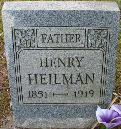 HEILMAN, HENRY - Meigs County, Ohio | HENRY HEILMAN - Ohio Gravestone Photos