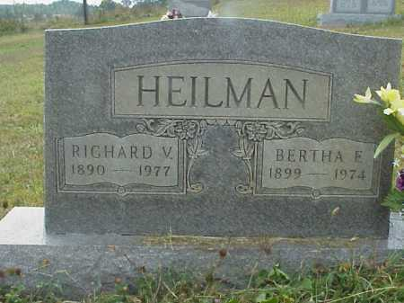 WILL HEILMAN, BERTHA F. - Meigs County, Ohio | BERTHA F. WILL HEILMAN - Ohio Gravestone Photos