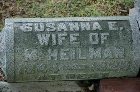 HEILMAN, SUSANNA E - Meigs County, Ohio | SUSANNA E HEILMAN - Ohio Gravestone Photos