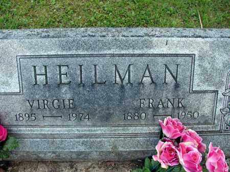 HEILMAN, VIRGIE - Meigs County, Ohio | VIRGIE HEILMAN - Ohio Gravestone Photos