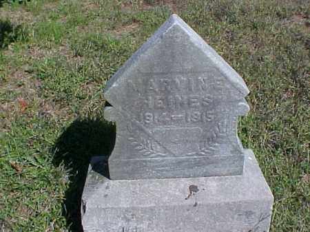 HEINES, MARVIN E. - Meigs County, Ohio | MARVIN E. HEINES - Ohio Gravestone Photos