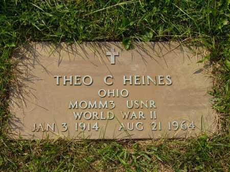 HEINES, THEO C. - Meigs County, Ohio | THEO C. HEINES - Ohio Gravestone Photos