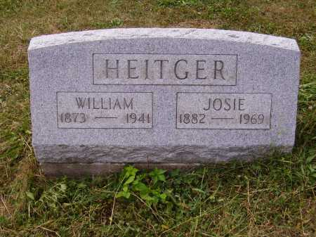 HEITGER, WILLIAM - Meigs County, Ohio | WILLIAM HEITGER - Ohio Gravestone Photos