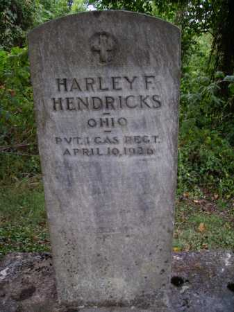 HENDRICKS, HARLEY F. - Meigs County, Ohio | HARLEY F. HENDRICKS - Ohio Gravestone Photos