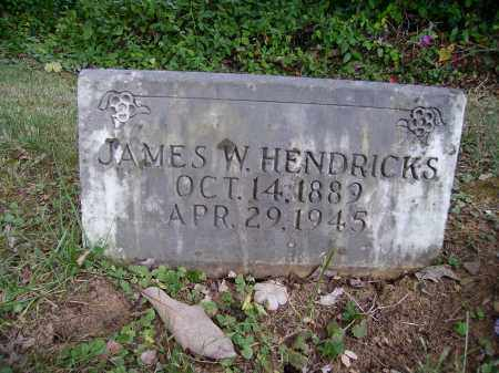 HENDRICKS, JAMES W. - Meigs County, Ohio | JAMES W. HENDRICKS - Ohio Gravestone Photos