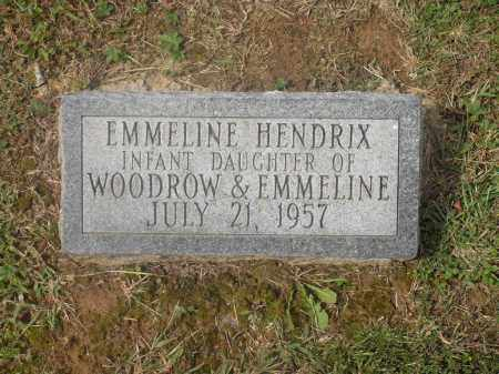 HENDRIX, EMMELINE - Meigs County, Ohio | EMMELINE HENDRIX - Ohio Gravestone Photos