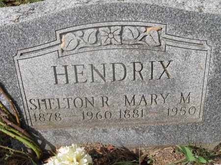 HENDRIX, SHELTON R. - Meigs County, Ohio | SHELTON R. HENDRIX - Ohio Gravestone Photos