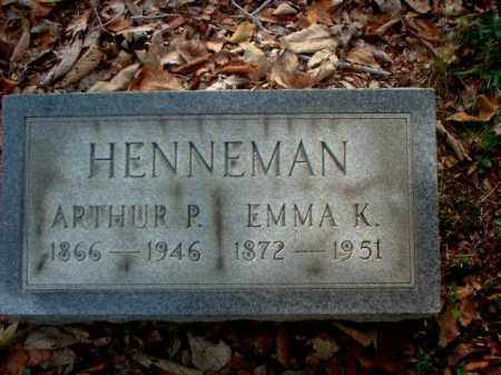 HENNEMAN, EMMA K. - Meigs County, Ohio | EMMA K. HENNEMAN - Ohio Gravestone Photos